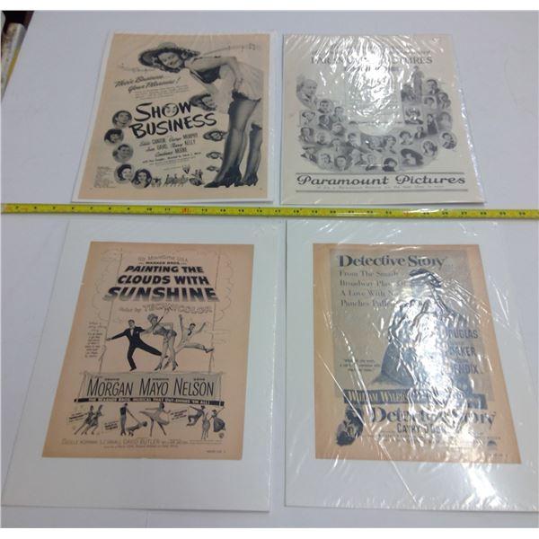 4 - Vintage Movie Posters