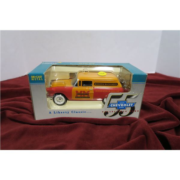 scale model '55 Chevy coin bank