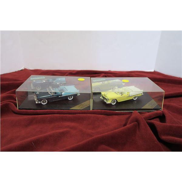 lot 2 '55 Chev Bel Air scale models