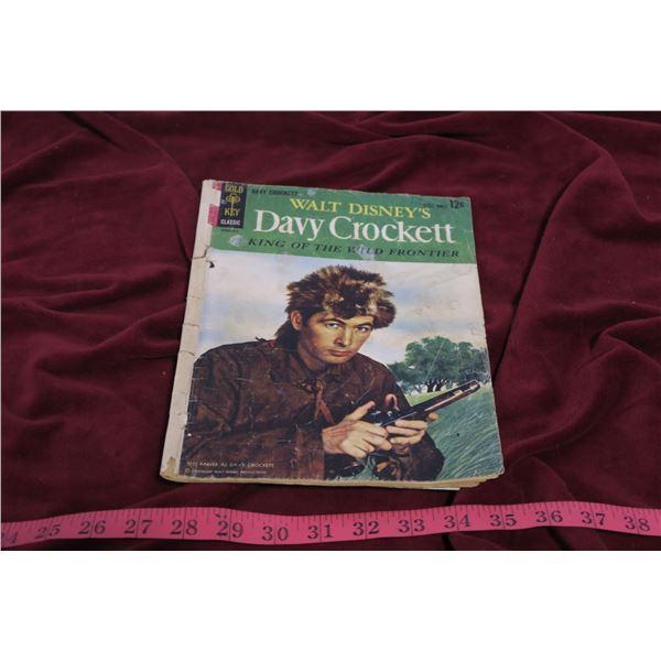 Antique Davy Crockett comic book