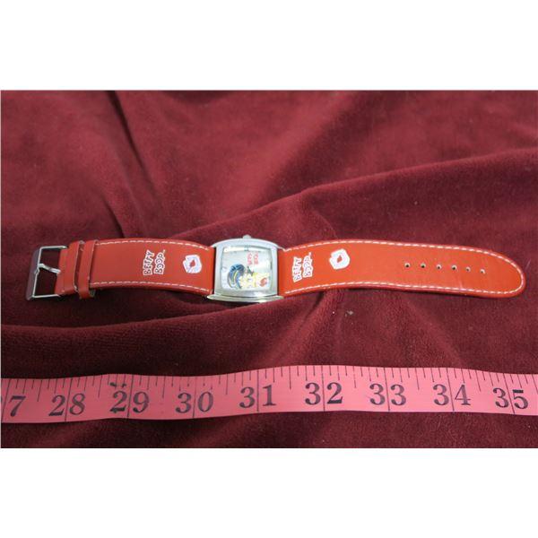Betty Boop wristwatch
