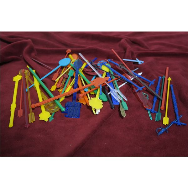 Lot Bag swizzle sticks
