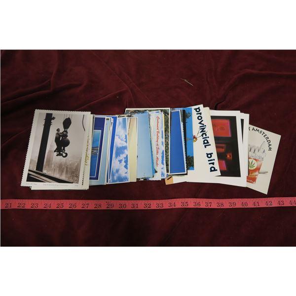 Lot vintage post cards