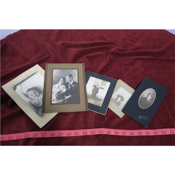 Lot vintage photos