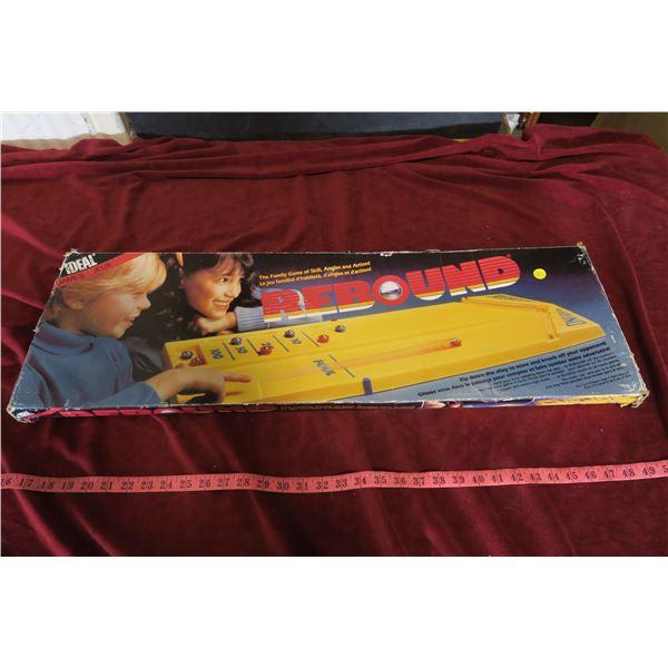 Rebound Board game with original box