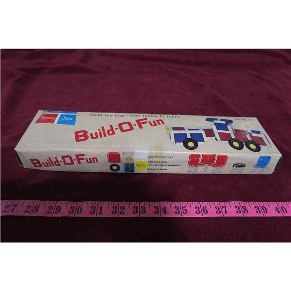 Build o Fun vintage kids toy with original box