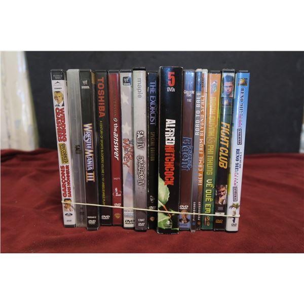 Lot DVDs