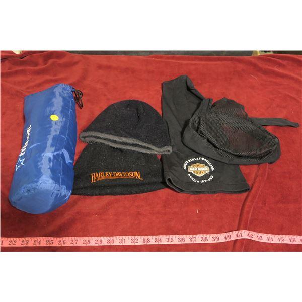 Harley Davidson headwear lot + comfort kit