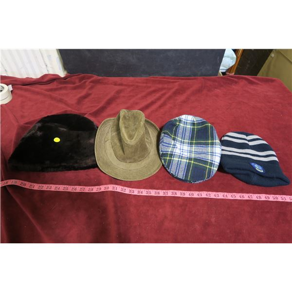 Toque & hat lot