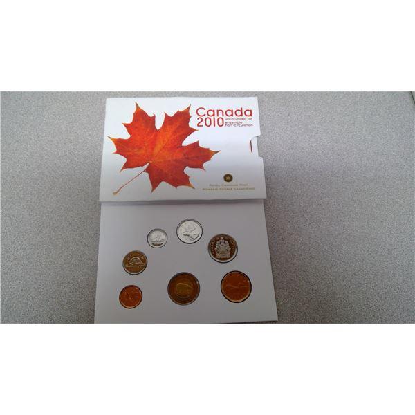 Canada 2010 uncirculated set
