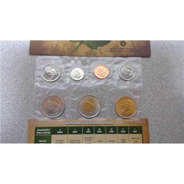 2011 Canada uncirculated set royal canadian mint