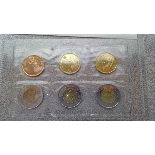 2011-2012 circulation and test token set