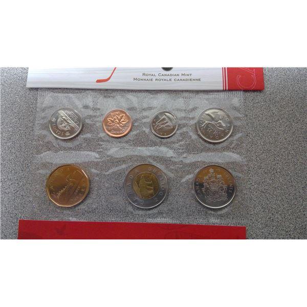 Canada 2012 uncirculated set royal Canadian mint