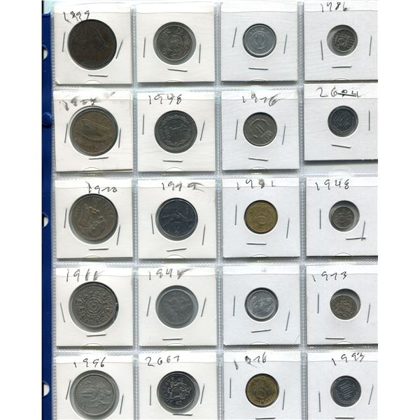 Lot Of 20 Assorted Foreign Coins