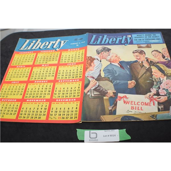 1945 LIBERTY MAGAZINES