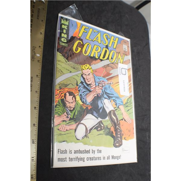 12 CENT #5 VERY NICE FLASH GORDON COMIC BOOK