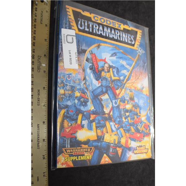CODEX ULTRAMARINES COMIC BOOK , THICK
