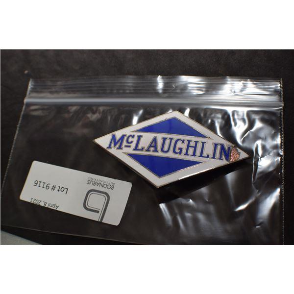 McLAUGHLIN  AUTOMOBILE EMBLEM