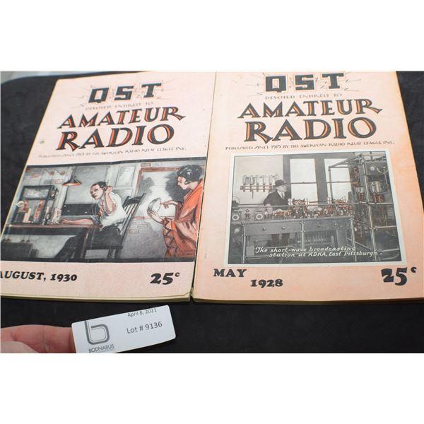 ANTIQUE RADIO MAGAZINES