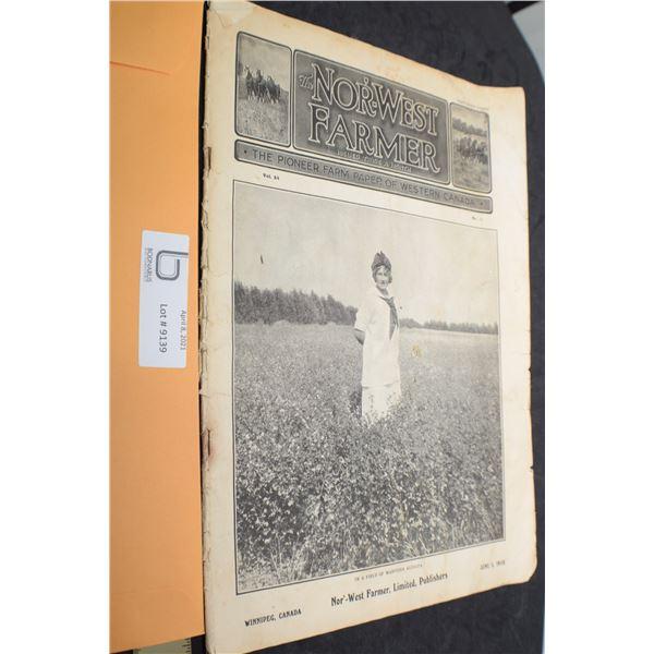 1915 FARM MAGAZINE / BUFFALO PRAIRIE CITIES AD