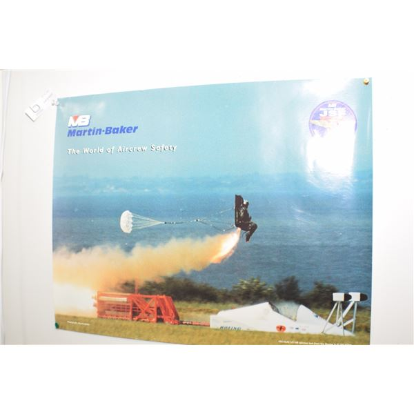 VINTAGE EJECTION SEAT POSTER