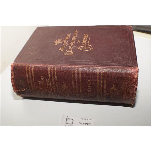 1897 MEDICAL ENCYCLOPEDIA OF MEDICINE 1300 + PAGES