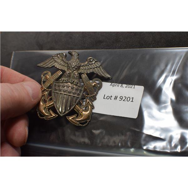 ORNATE USA CAP BADGE MILITARY