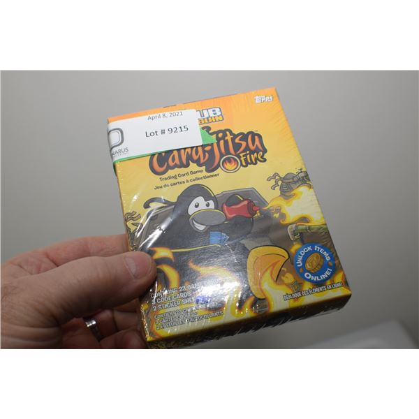 CARD-JITSU TOPPS SET MIB