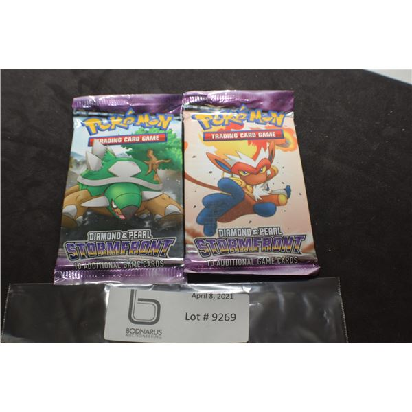 POKEMON X 2 SEALED PACKS TRADING CARD