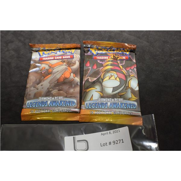 POKEMON X 2 SEALED PACKS TRADING CAR