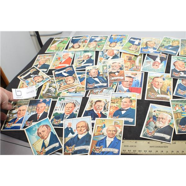 VINTAGE PRESIDENTS SET OF TRADING CARDS