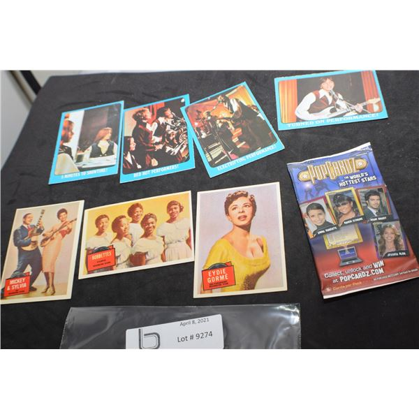 VINTAGE POP CULTURE AND MUSIC TRADING CARDS