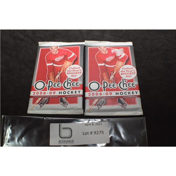 2008-09 O-PEE-CHEE  SEALED HOCKEY CARDS PACKS