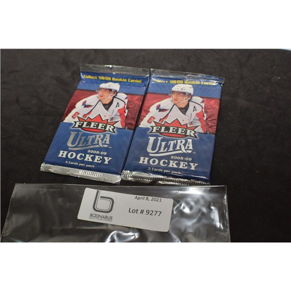 2008-09 FLEER  SEALED HOCKEY CARDS PACKS