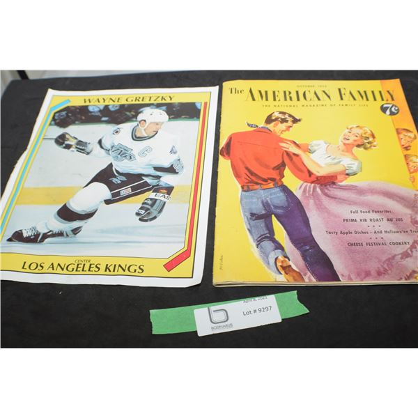 7 CENT COPY AMERICAN FAMILY / GRETZKY PICTURE