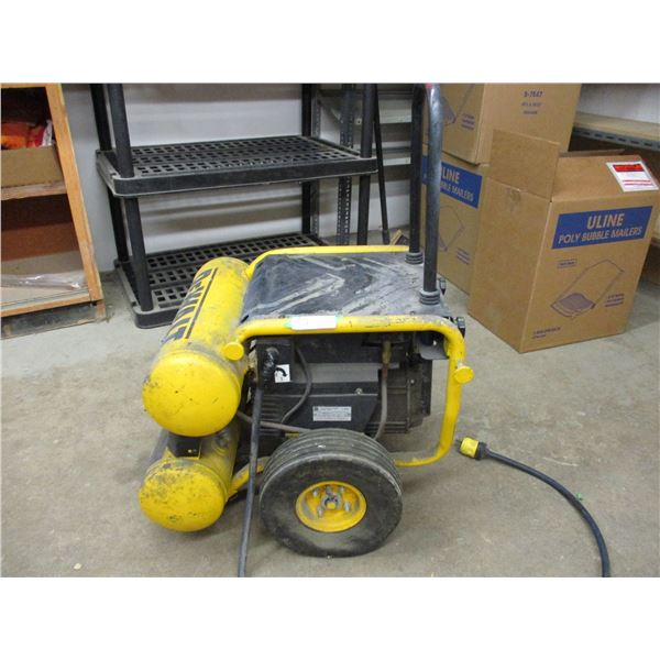 DeWalt Emglo 4.5 Gallon Compressor: Running