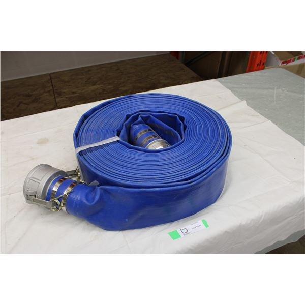"Roll of 5"" Fire Hose: 100ft Long"
