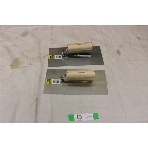 Pair of Finishing Trowels