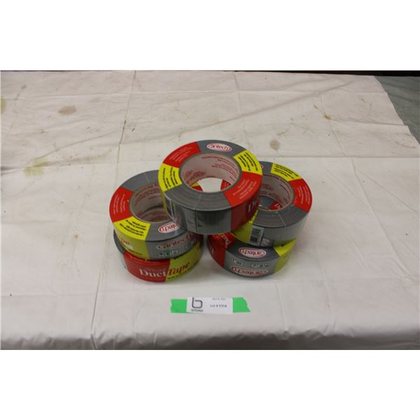 Five Rolls of Cantech Duct Tape