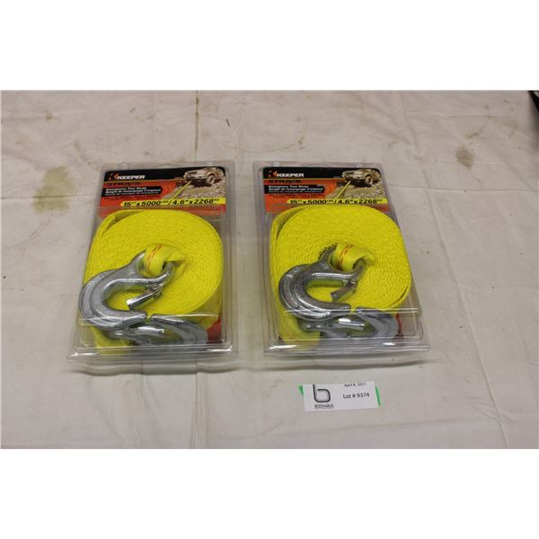 Pair of Emergency Tow Straps