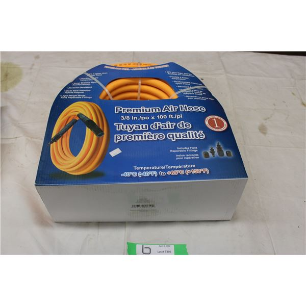 "Air Hose: 3/8"" with 100ft Length"