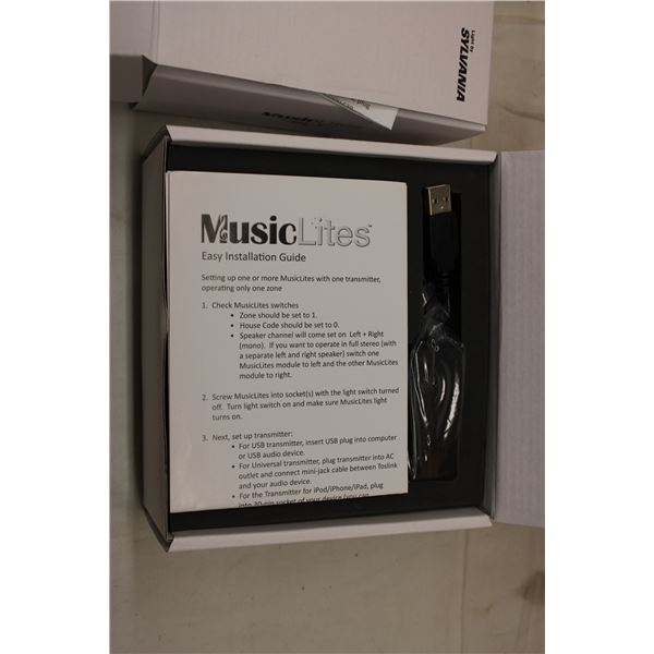 (2X THE MONEY) Music Lite USB Sound Accessory