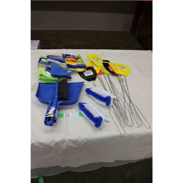 Cleaning Supply and Fly Swatter Package