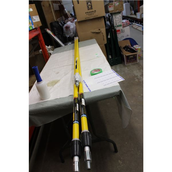 (3X THE MONEY) Three Telescopic Extension Poles