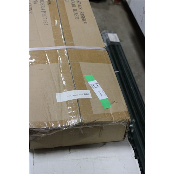 4 Three Step Stair Risers in Box