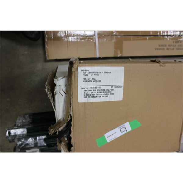 2 Five Step Stair Risers in Box