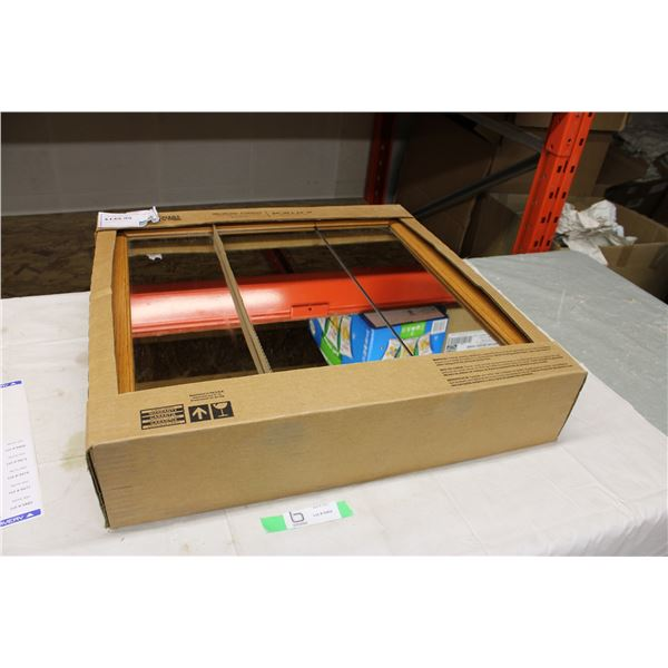 "Oak Medicine Wall Cabinet 5"" x 24"" x 24"" in Box"