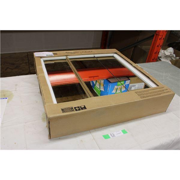 """White Medicine Wall Cabinet 5"""" x 24"""" x 24"""" in Box"""