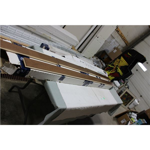 Box of Assorted Lengths Hardwood Flooring