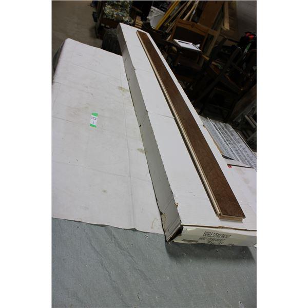 Box of Assorted Hardwood Flooring Lengths
